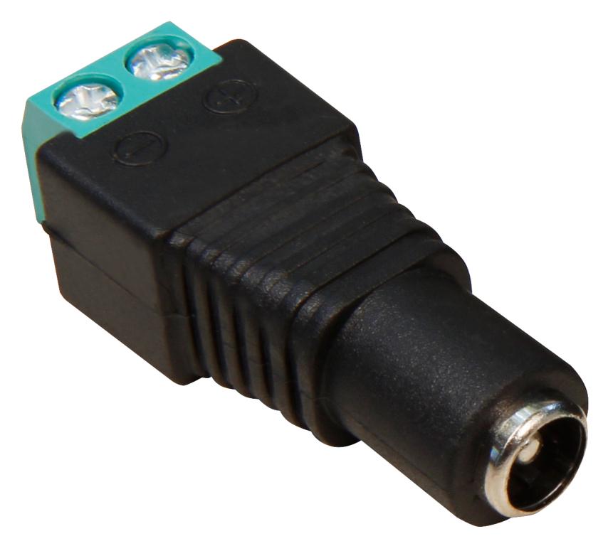 10x DCSteckverbinder Hohlbuchse HohlStecker Stecker Kupplung 2,1x 5,5mm FürCCTV